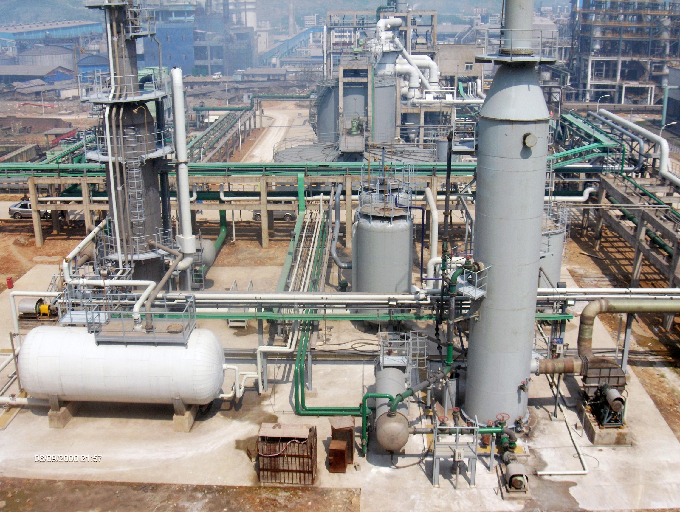 瓮福团体25万吨/年磷石膏制硫酸铵