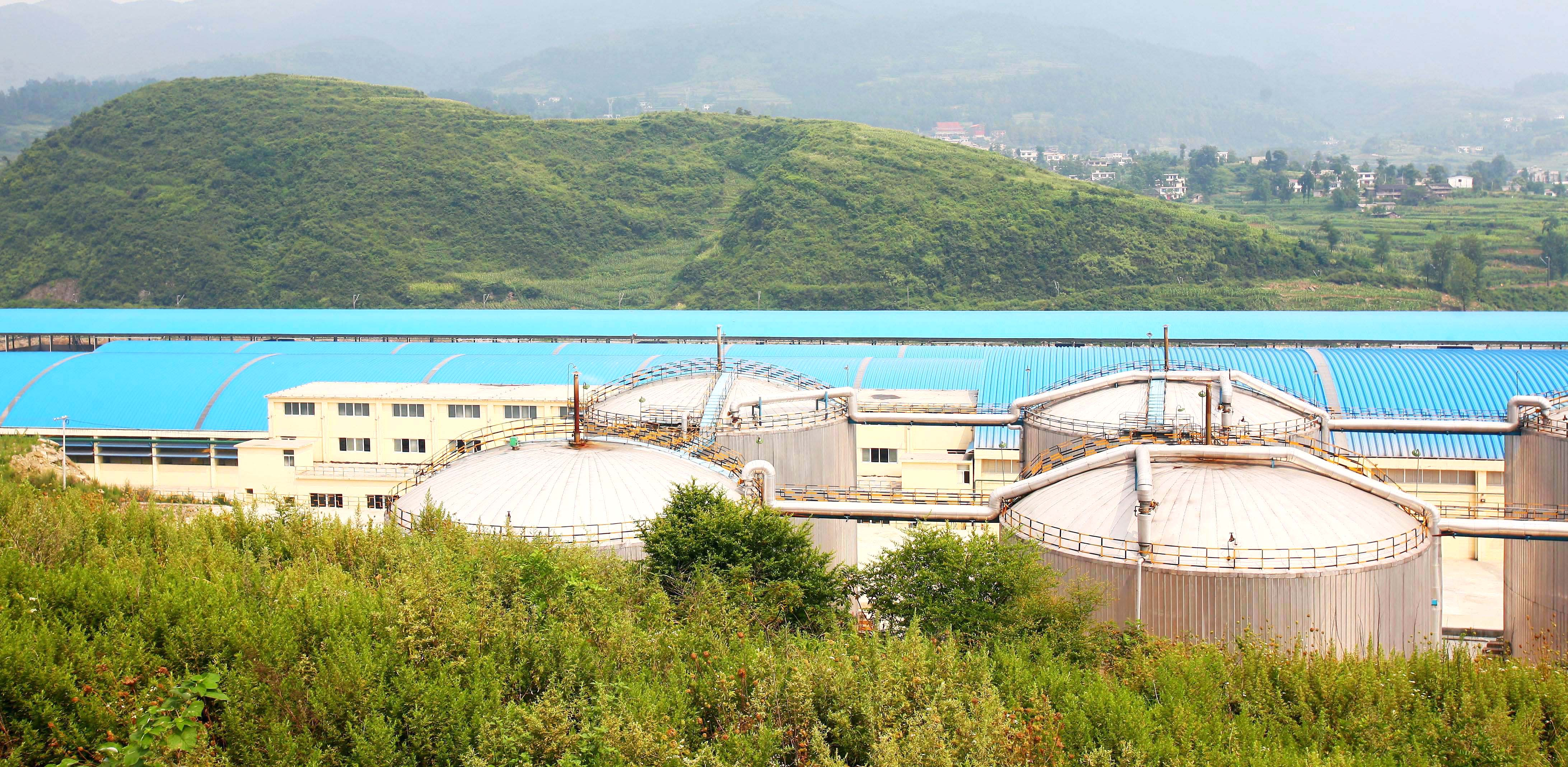 中化开磷专用货场物料贮运
