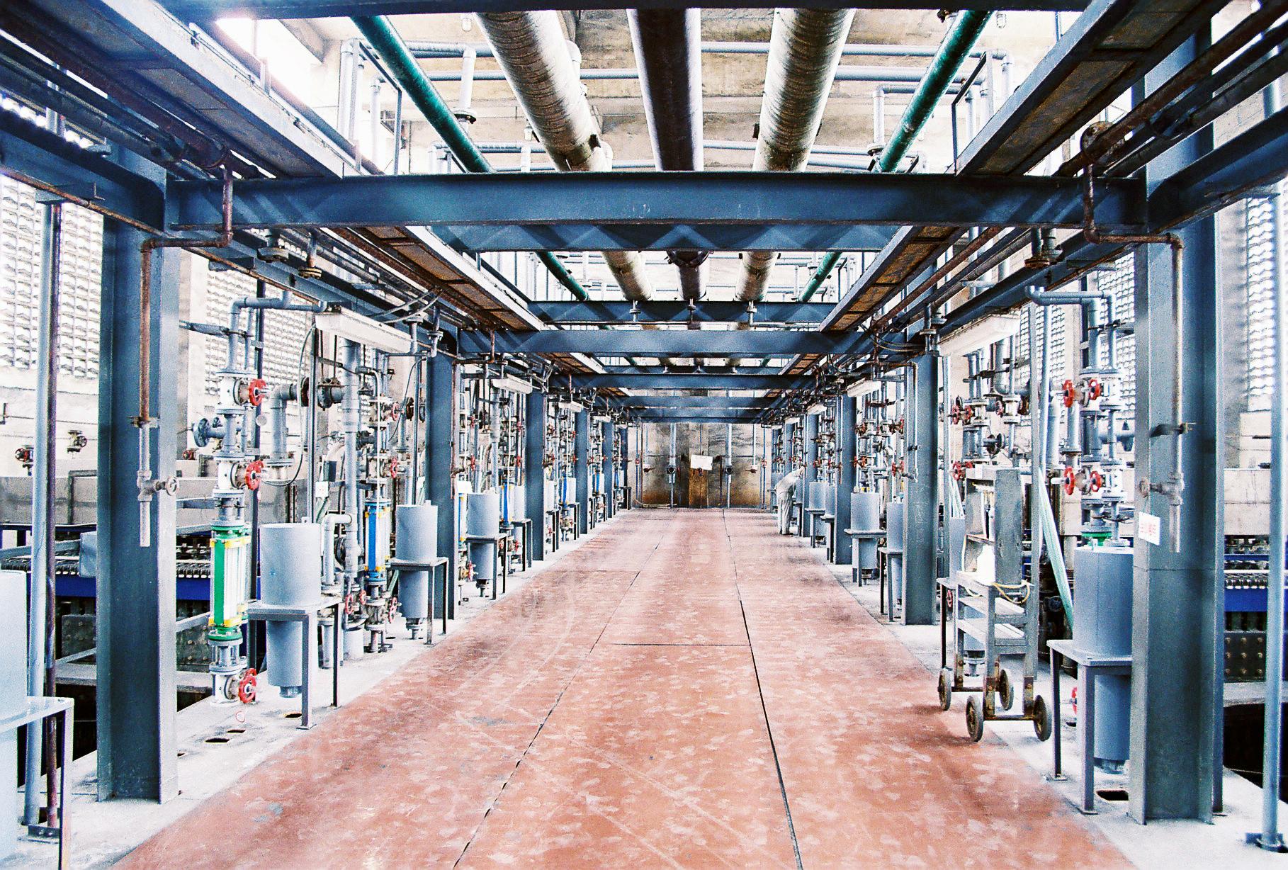 遵义碱厂离子膜烧碱生产线