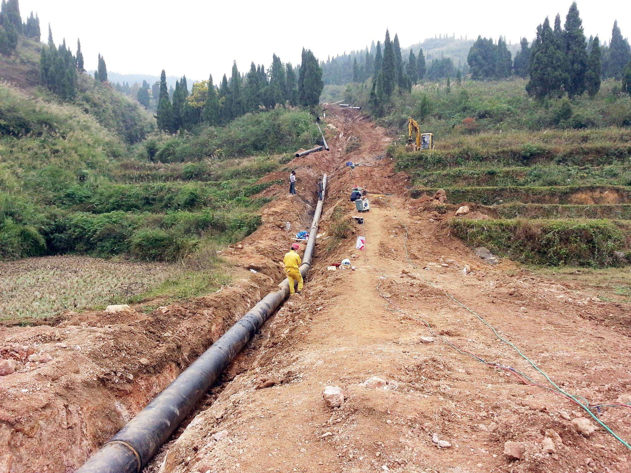 贵州开阳化工外排水管线