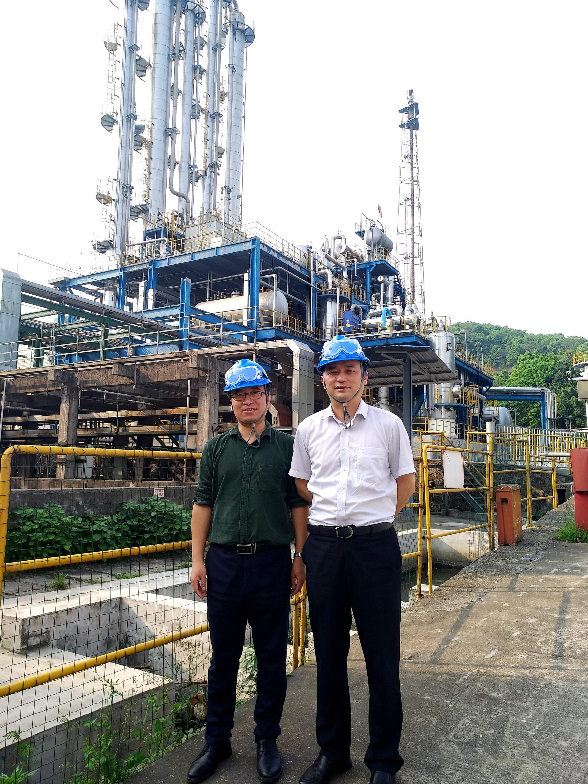 公司领导赴湖南瑞源、湖南泓源公司醋酸仲丁酯和石化仓储项目现场回访