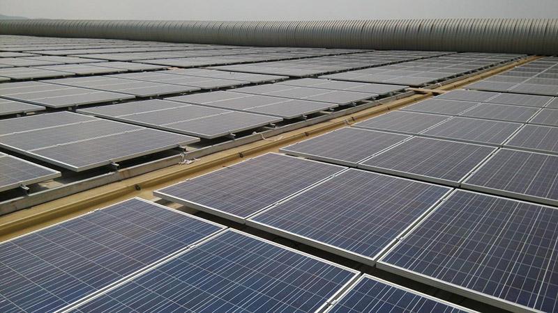 安徽馬鞍山高博集7.48MW全額上網分布式光伏發電項目1