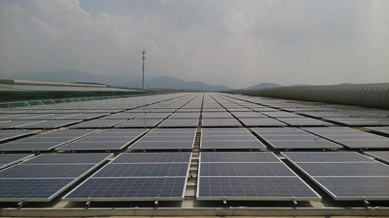 安徽馬鞍山高博集7.48MW全額上網分布式光伏發電項目2