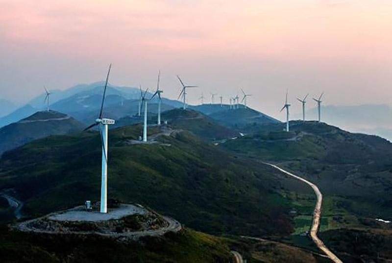 大唐新能源公司廣東電白嶺門-49.5MW風電項目2