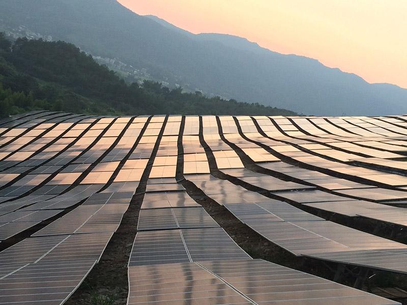 越南芽莊1期40MW光伏太陽能電廠項目1