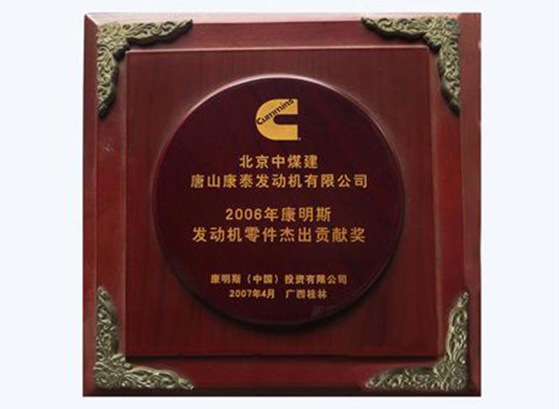 2006年杰出貢獻獎