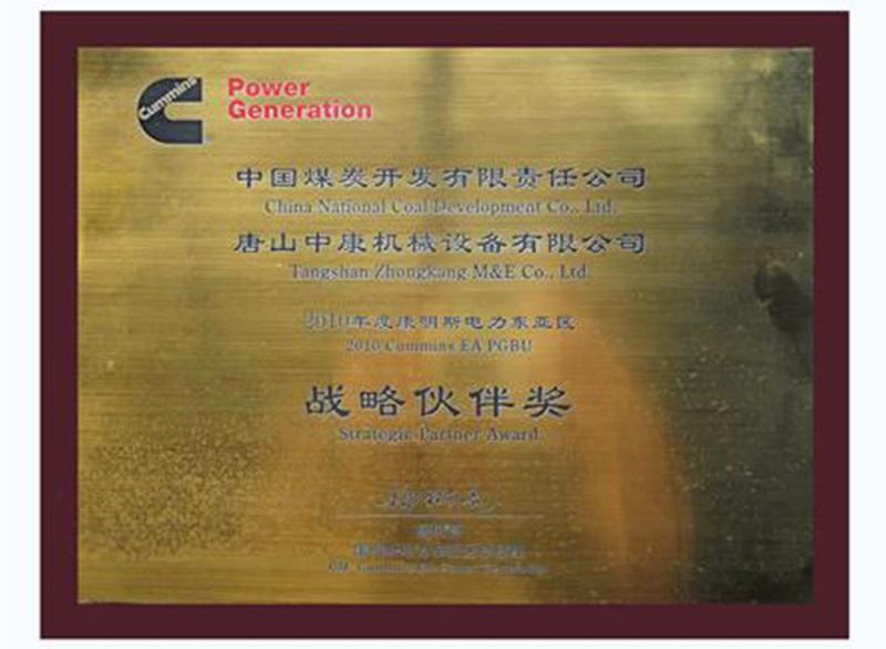 2010年度戰略伙伴獎