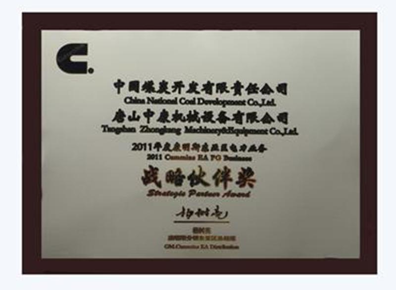 2011年度戰略伙伴獎
