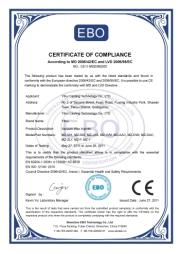 注蜡机CE证书