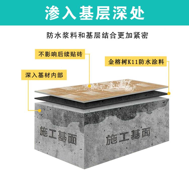 金榕树-K11高级防水浆料5