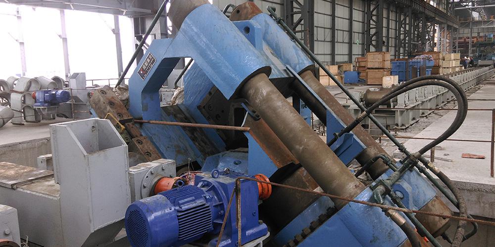 石鋼-1500T液壓剪