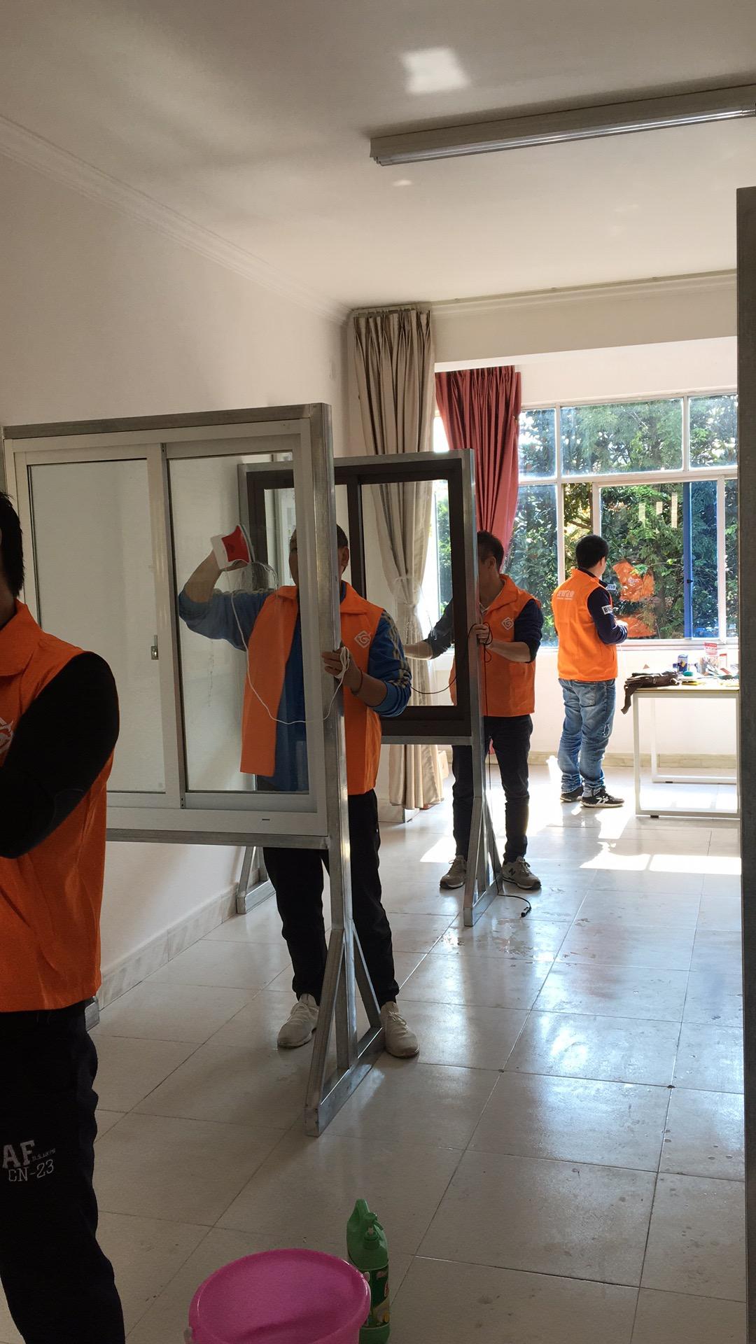 玻璃清洗培训