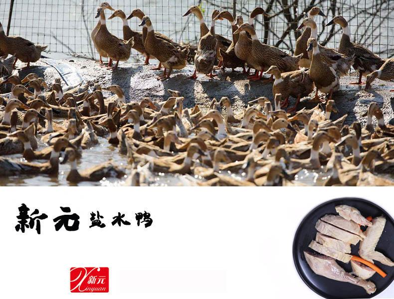 新元鹽水鴨當天400g3袋特產中秋真空咸水鴨零食小吃熟食肉類食品1