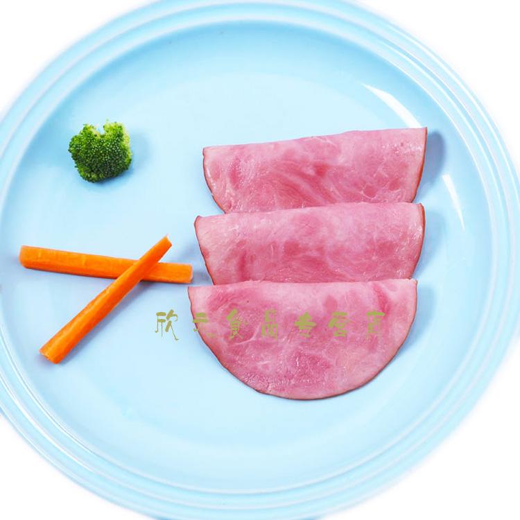 新元通脊火腿片90g5包即食三明治肉片西餐火腿切片卤味即食熟食2