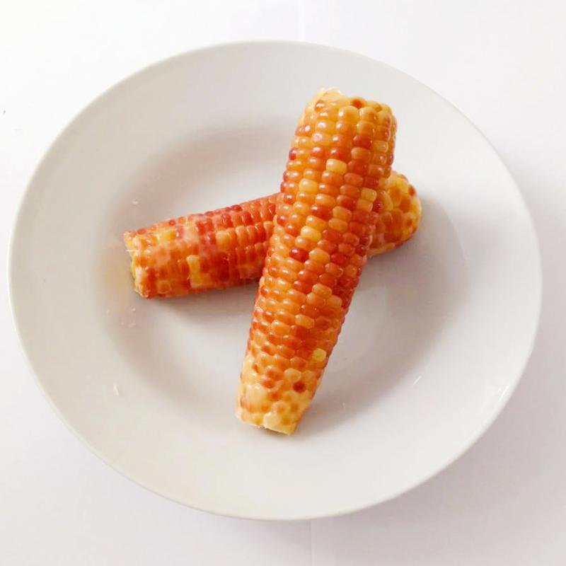 沪食紫糯玉米熟玉米开袋即食单根真空包装香甜软糯崇明玉米棒2袋3