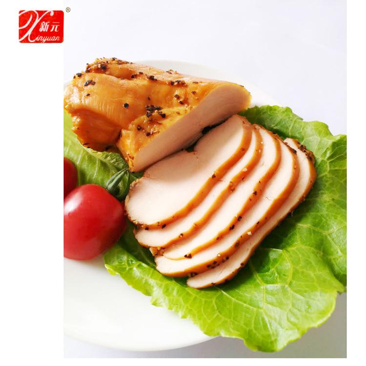 新元黑椒雞胸雞胸肉輕食即食真空小包裝雞胸脯健身即食零食4袋8