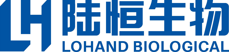 陸恒生物全藍色logo