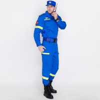 藍色國際救援服裝應急消防服