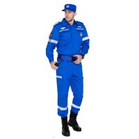 藍色戶外應急救援作訓服套裝