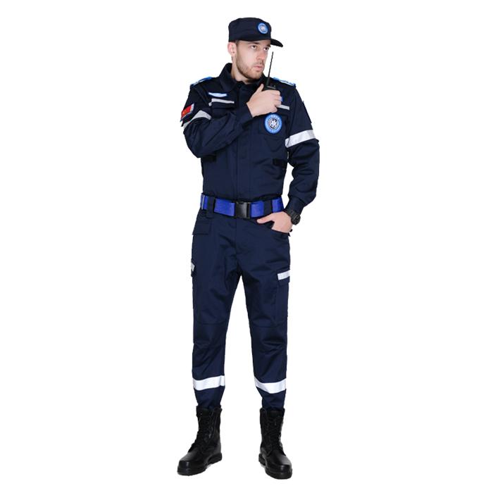 藏藍冬季救援服裝國際應急救援服