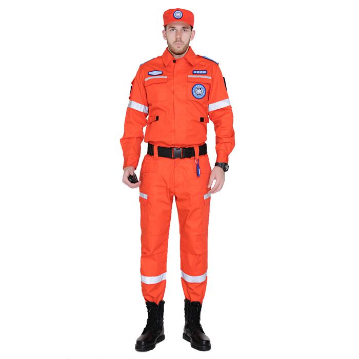 橘色戶外應急救援作訓服