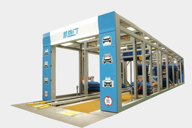 凯旋门隧道式洗车机1