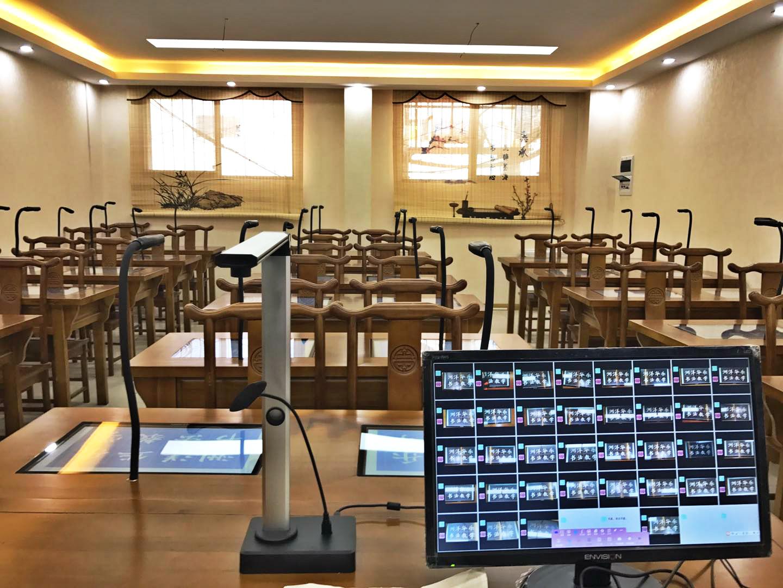 数字书法临摹录播教室教学系统