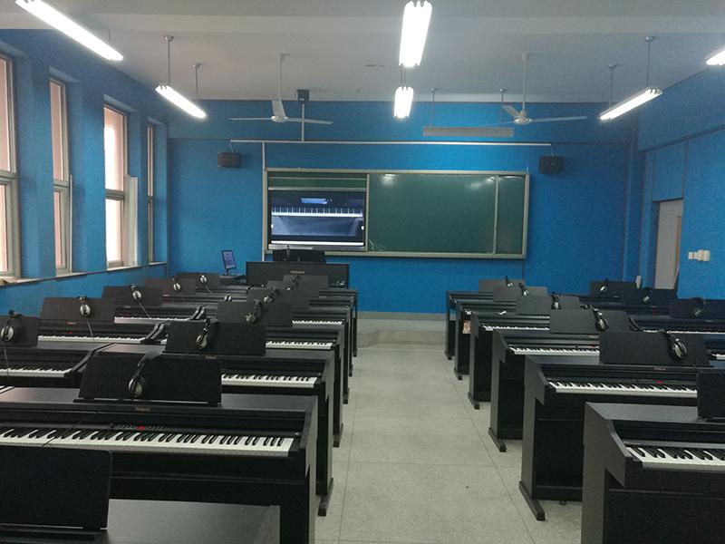 全息钢琴教室教学系统