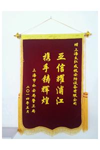 亚疑峰会声誉锦旗