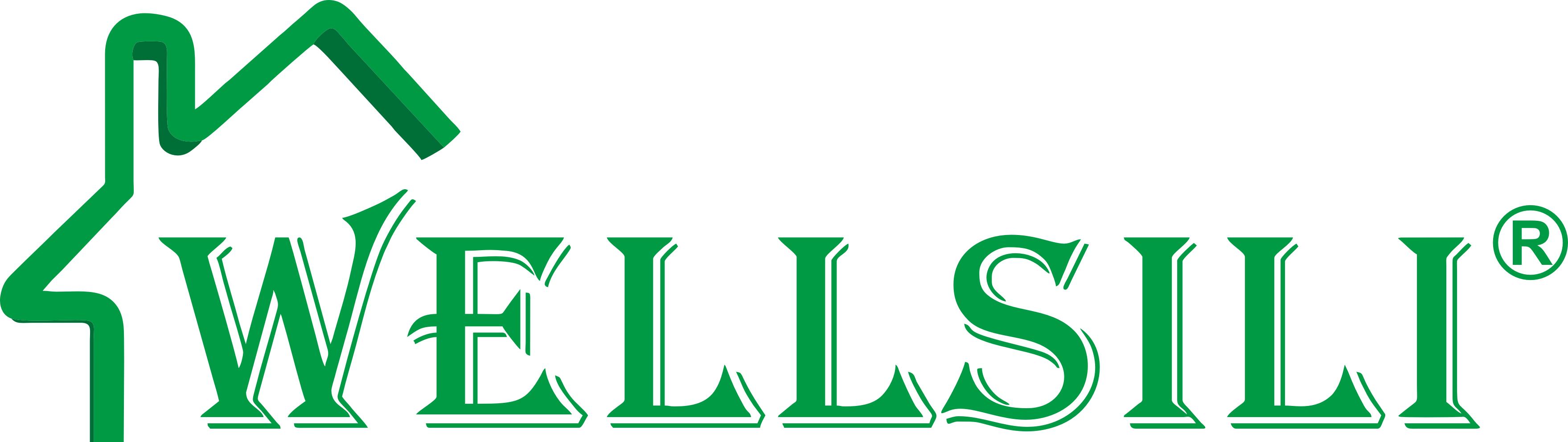 嘉伊家logo绿色