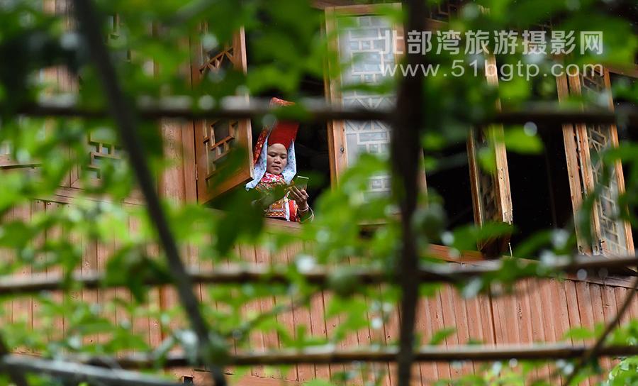 羅盛作品-窗前-羅盛-15807709889-防城九龍潭