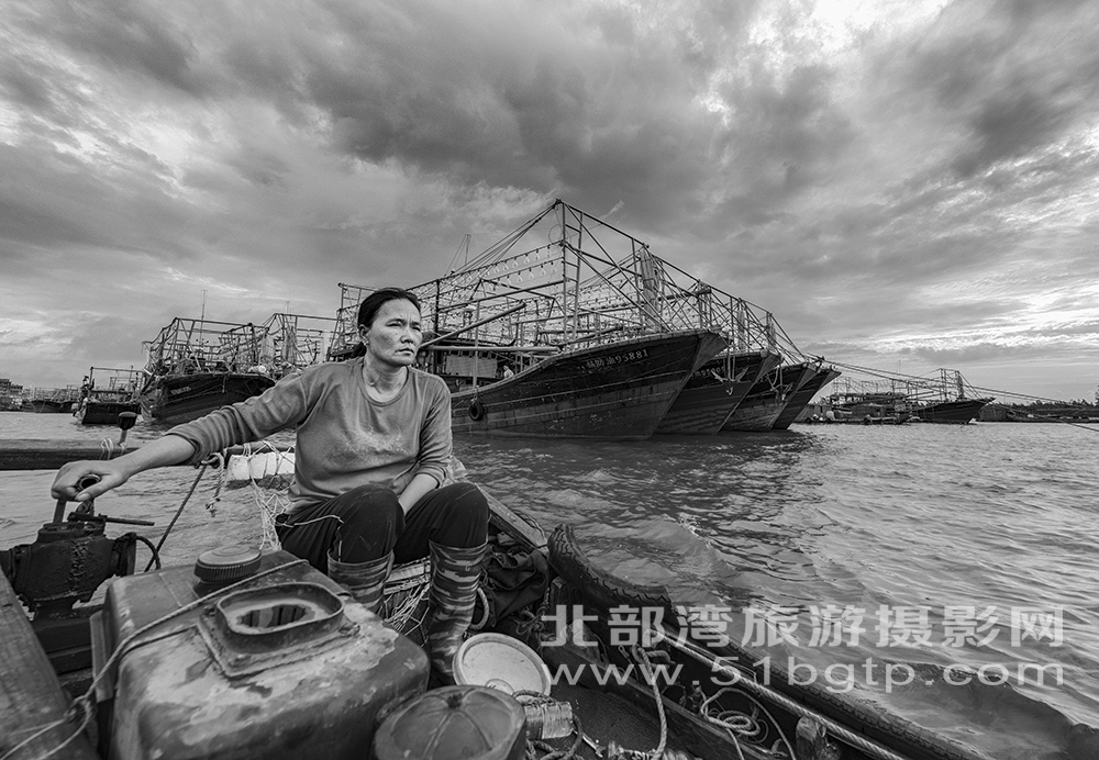 《渡海人》黃雪娟拍攝于防城區企沙鎮13807704333-