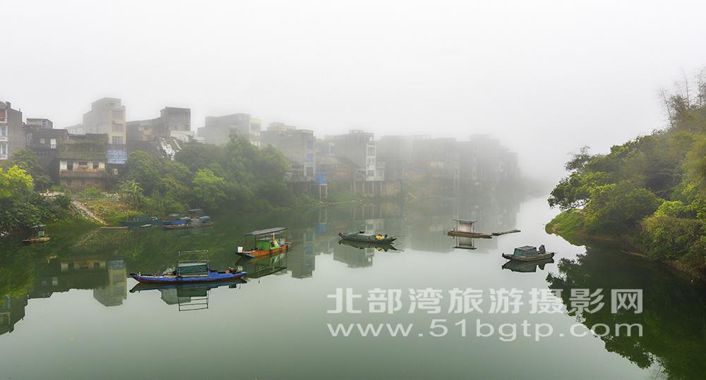 《霧中江景》xiao-