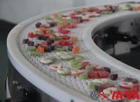 食品行業-轉彎網帶輸送機1-6