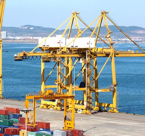 港口机械设备润滑