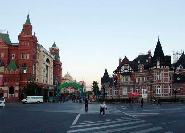 大连俄罗斯风情街签得俄罗斯度假酒店