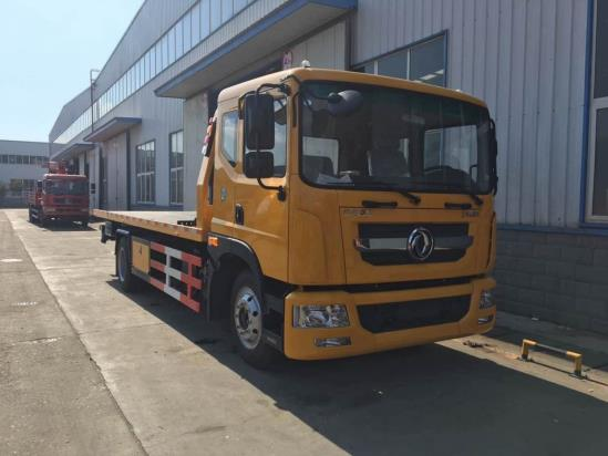 帕菲特牌PFT5140TQZP5型东风多利卡D9系列5吨平板清障车术规格书