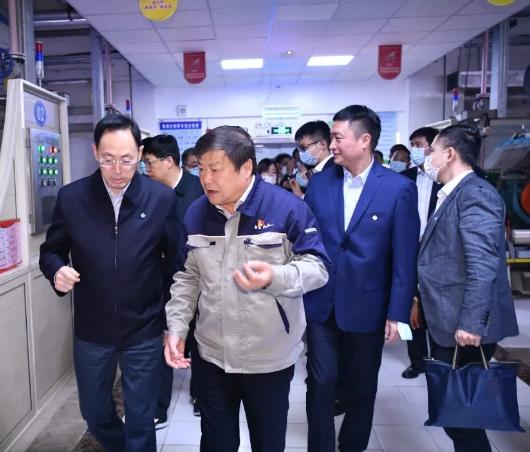 中国通用技术集团董事长于旭波一行莅临公司调研
