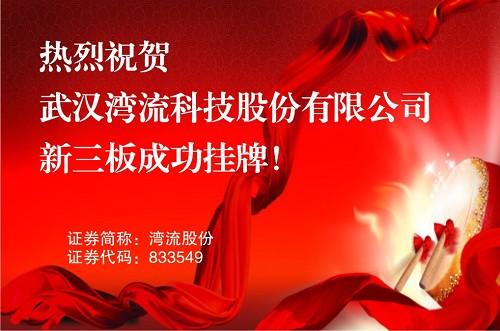 武汉湾流科技股份有限公司新三板挂牌