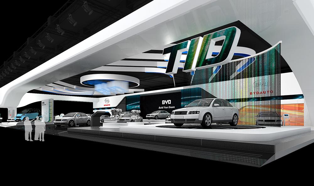 北京車展—比亞迪