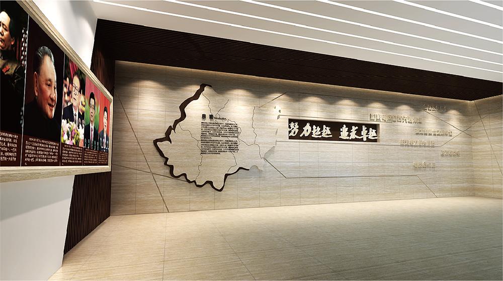 襄陽供電公司展廳