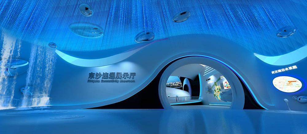 东沙连通工程展厅