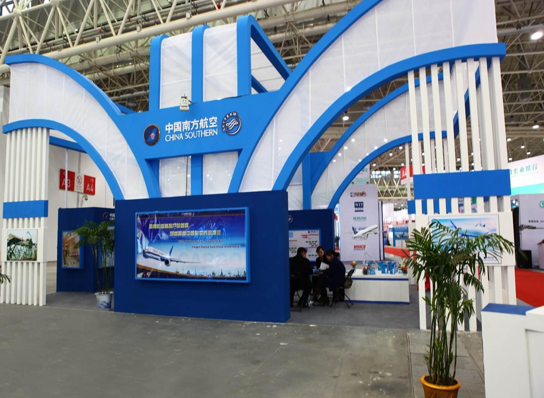 2012年華中物流展---中國南方航空展區
