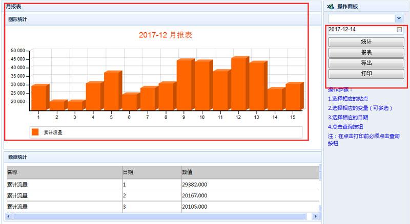 06-累積量統計報表導出打印