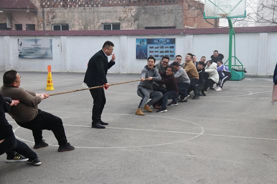 東昱集團公司舉行迎新春職工趣味運動會