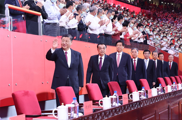 慶祝中國共產黨成立100周年文藝演出《偉大征程》在京盛大舉行
