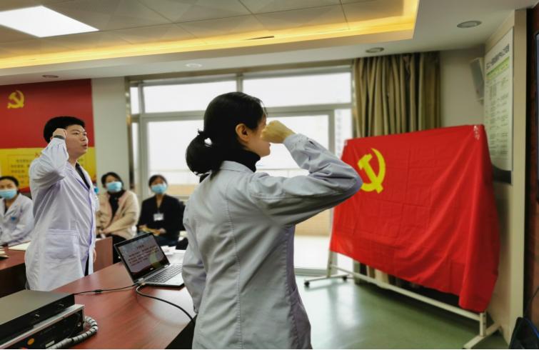 3201医院机关党支部召开党员大会学习交流《习近平谈治国理政》第三卷心得感悟