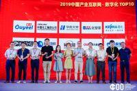2019中國產業互聯網·數字化TOP10第3名