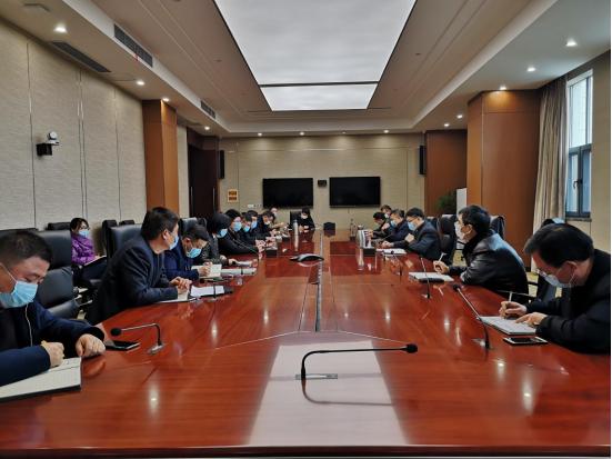 新能泰山公司召開疫情防控指標追趕再動員再部署再落實工作會