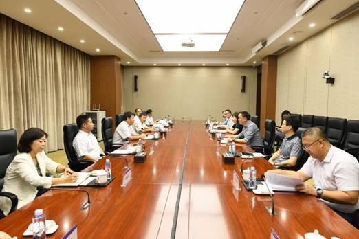 新能源公司總經理王力軍一行到能源交通公司所屬在寧企業交流